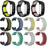 Replacement TPE Sport Wristband Bracelet Band Strap for Fitbit Charge 2 Tracker