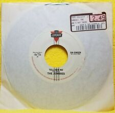 The Zombies She's Not There/Tell Her No London 45 RPM  EXCELLENT COND  FREE SHIP