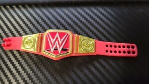 WWE Mattel Action Figure Raw Universal Heavyweight Title Belt Elite