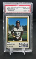 💎 1987 BELLINGHAM MARINERS #15 KEN GRIFFEY JR ROOKIE RC PSA 10 GEM MINT
