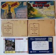 New York Delaware Harrogate Scarborough Knaresborough Beverley Lettercards  #b28