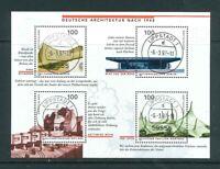 BRD Mi-Nr. 1906-1909 / Block 37 zentrisch gestempelt Tagesstempel - Ortsstempel