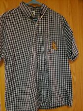 Mens M Warner Bros Scooby-doo Bowling Button Front Short Sleeve Casual Shirt