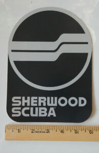 "Sherwood Scuba Divers Tank/Wall/Car/Window/Door Sticker/Decal XL 8 1/4"" X 6"""