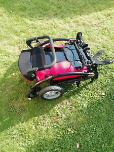 Simba special needs folding pushchair black and red used excellent condition