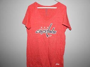 CCM NHL Washington Capitals #43 Hockey Shirt New Womens Sizes