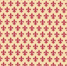 Klebefolie - Möbelfolie Lilie - French Lily - rot -  45 cm x 200 cm Dekorfolie