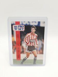 Matthew Le Tissier ERROR CARD #211 - 1990-91 Pro Set English League - TISSER