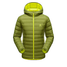 Mens Lightweight Puffer Duck Down Jacket Men Hooded Thermal Winter Down Parka