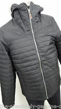 TIMBERLAND Black Primaloft Padded Jacket Quilted with Hood XL Water Resistant