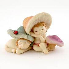 Miniature Dollhouse Fairy Garden - Shroomies Sleeping - Accessories