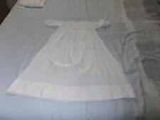 Privileged  Victorian Hand Stitched Infants white Cotton Gown owner Melikoff