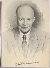 Dwight Eisenhower Original Hand Signed Photo