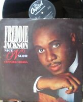 "FREDDIE JACKSON ~ Nice N Slow ~ 12"" Single PS"