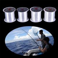 crystal fil monofilaments les lignes de pêche le nylon tressé fil des poissons