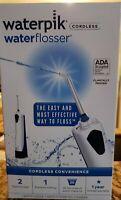 Waterpik WHITE Cordless Waterflosser #WP-360W Brand new sealed