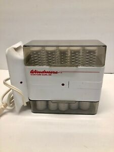 Windmere Custom Curl 20 Hot Rollers Hairsetter Set