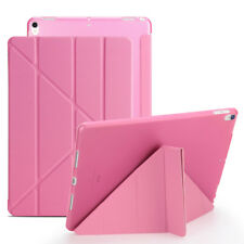 Shockproof Origami Leather TPU Back Case Cover For iPad 2 3 4 Mini 1 2 3 Air Pro
