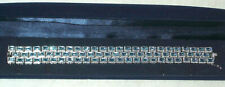 Harry Ivens Armband Silber 925 mit 74 x Blautopas in Carree-Schliff Länge 19 cm
