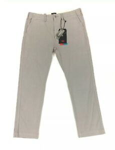 NEW Levi's Premium 502 Taper Chinos All Seasons Thermadapt Gray Mens Pants NWT