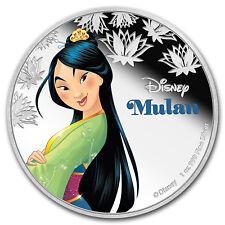 2016 Niue 1 oz Silver $2 Disney Princess Mulan - SKU #97734