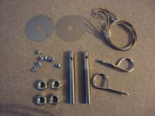 A-Body Chevelle SS Cutlass 442 Hurst Olds GTO Lemans Tempest Hood Pin Cable Kit