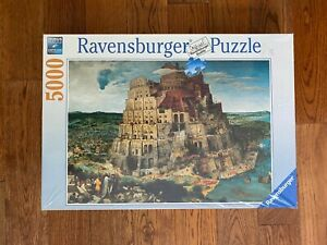 NEW Ravensburger 5000 THE TOWER OF BABEL Jigsaw Puzzle SEALED