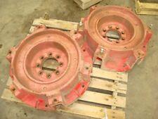 1973 Massey Ferguson 1085 Tractor Rear Wheel Center Hubs