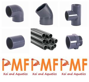 1 Inch Pressure Pipe And Fittings For Koi Ponds And Koi Pond Filtration