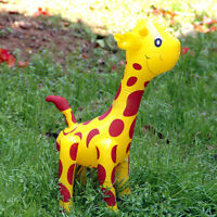 New Large Inflatable Giraffe Zoo Animal Blow Up Kids Toy Pool Party Decor UK