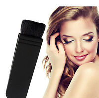 New Professional Flat Contour Blusher Kabuki Blush Brush Makeup Cosmetics Tool x