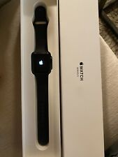 Apple Series 3 GPS 42mm Space Aluminum Case Watch - Black