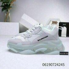 UK  New Triple S White Cream Damen HERREN Schuhe TRAINER Alle cushion shoes
