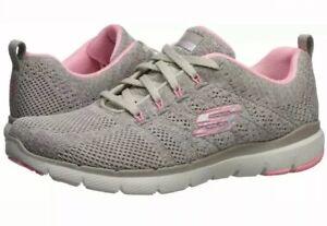 Skechers Women's Flex Appeal 3.0-HIGH Tides Shoe, Ntpk, 10 US  Natural Pink