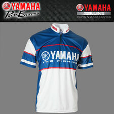 NEW GENUINE YAMAHA PRO FISHING JERSEY 100% POLYESTER MEDIUM CRP-14JPF-WH-MD