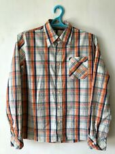 Nudie Jeans Mens Checked Long Sleeve Cotton Shirt Size M