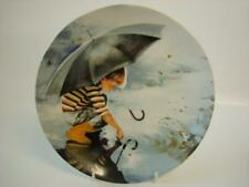 BRADEX DONALD ZOLAN WONDER OF CHILDHOOD TOUCHING THE SKY PLATE