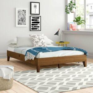 Elizabeth Platform Bed - Super King Size Rustic Pine