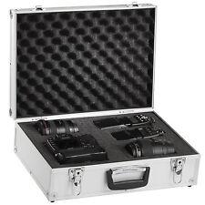 Solidguard Pro Camera Aluminium Case Padded For Digital SLR 46x34x15cm Silver