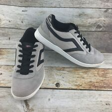 AIRSPEED SLEEP MORE SKATE Canvas Leather Skateboard Shoes Mens 10 Gray & Black