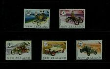 New Zealand: 2003, Veteran Vehicles  MNH set