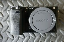 Sony Alpha A6000 24.3MP Digital Camera - Black (Body Only)