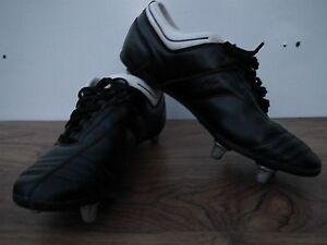 BOYS ADIDAS adiNOVA SG - SOFT GROUND FOOTBALL BOOTS SIZE UK 5 EU 38