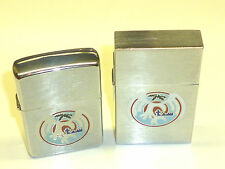ZIPPO ORIGINAL 1932 REPLICA Lighter - 1989 & ZIPPO Lighter - 1986-with motifs