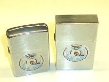 ZIPPO ORIGINAL 1932 REPLICA LIGHTER - 1989 & ZIPPO LIGHTER - 1986 - WITH MOTIVE