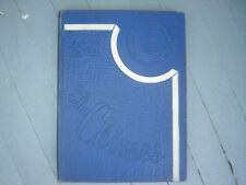"""1941 Berea College Yearbook Kentucky """"The Chimes"""""""