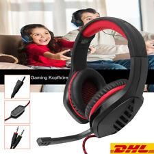 Ohr Gaming Kopfhörer Headset mit Mikrofon Stereo LED für PS4 PC Laptop Xbox One