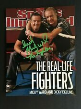 MICKY WARD AUTOGRAPHED 8 x 10  SPORTS ILLUSTRATED PHOTO  W/C.O.A.