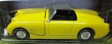 "AUSTIN BUGEYE HEALEY SPRITE 3"" LONG YELLOW BUGEYE HEALEY SPRITE WHITE LIGHTNING"
