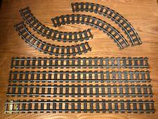 5-ft square LOOP Lego 9v metal rail train track 24 straight 16 curve 4515 4520 3